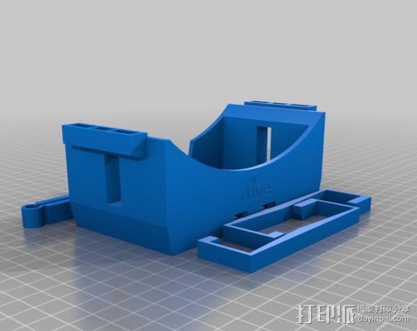谷歌纸盒 虚拟现实护目镜 3D模型  图4