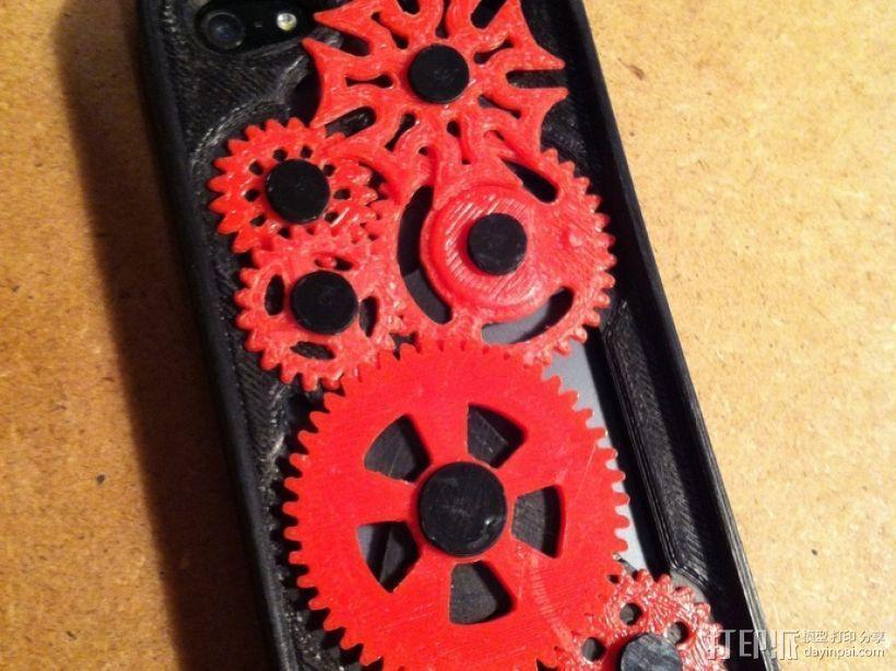 iPhone 5手机齿轮保护壳 3D模型  图3