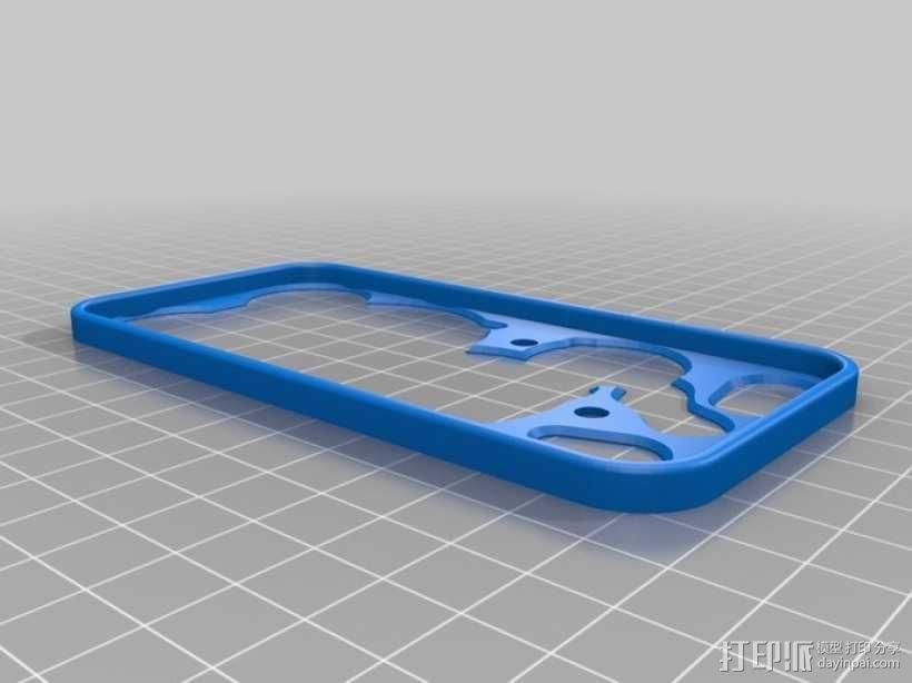 iPhone 5手机齿轮保护壳 3D模型  图8