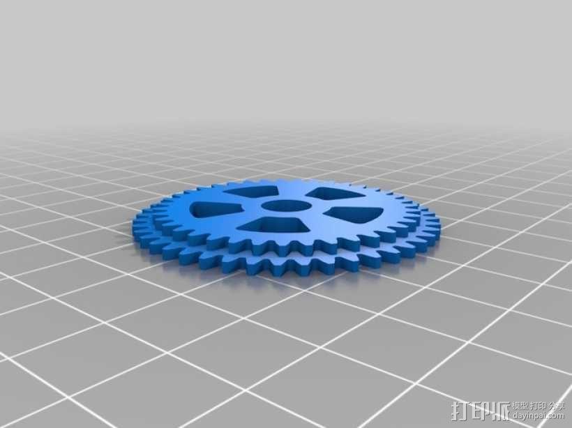 iPhone 5手机齿轮保护壳 3D模型  图9