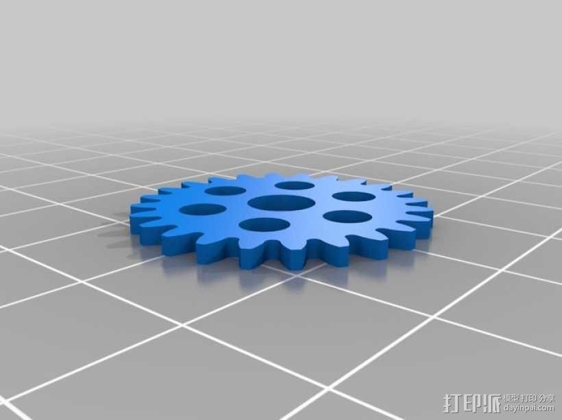 iPhone 5手机齿轮保护壳 3D模型  图12