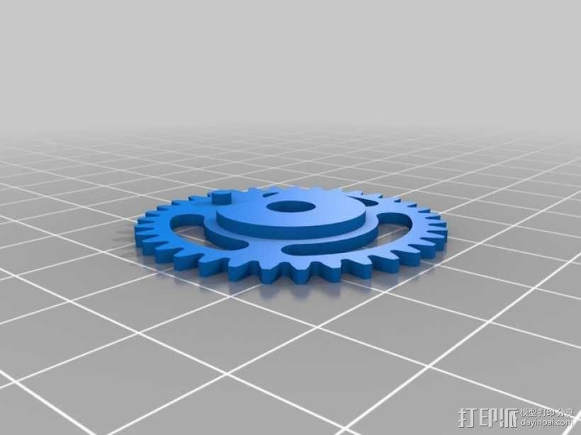 iPhone 5手机齿轮保护壳 3D模型  图10
