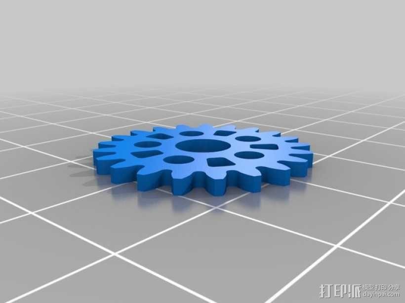 iPhone 5手机齿轮保护壳 3D模型  图13