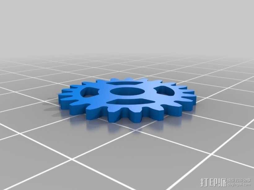 iPhone 5手机齿轮保护壳 3D模型  图14