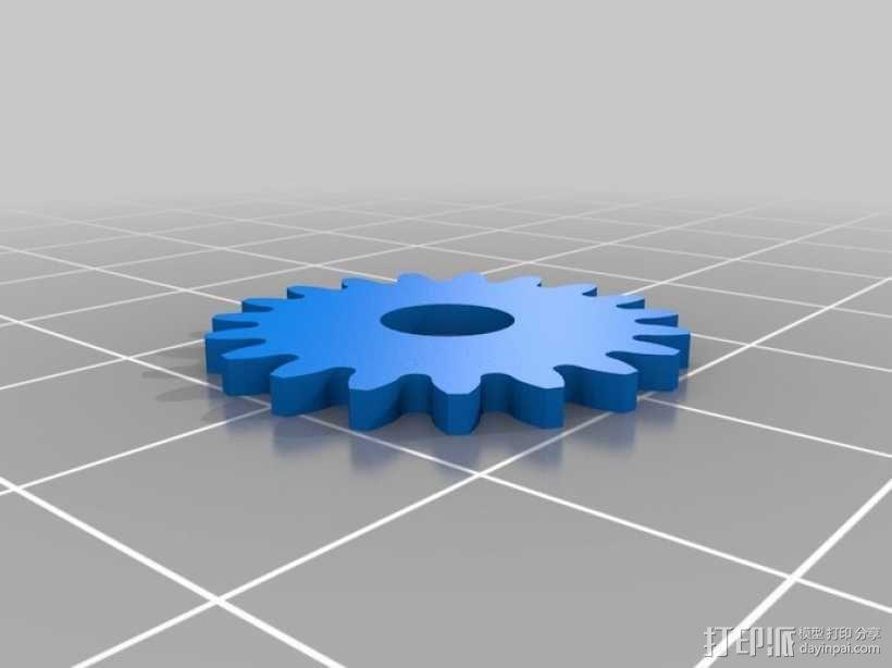 iPhone 5手机齿轮保护壳 3D模型  图15