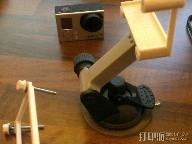 GoPro Hero3/Hero3+ 相机外壳 3D模型  图4