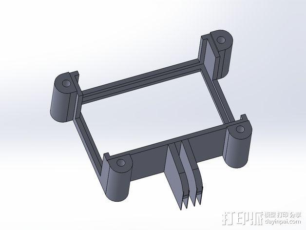 GoPro Hero3/Hero3+ 相机外壳 3D模型  图7