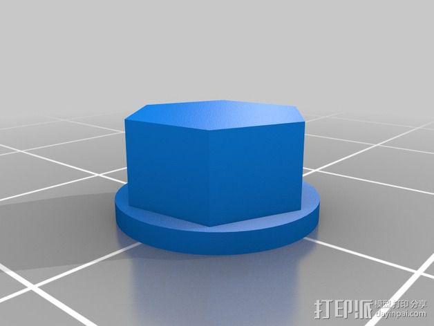 GoPro Hero3/Hero3+ 相机外壳 3D模型  图6