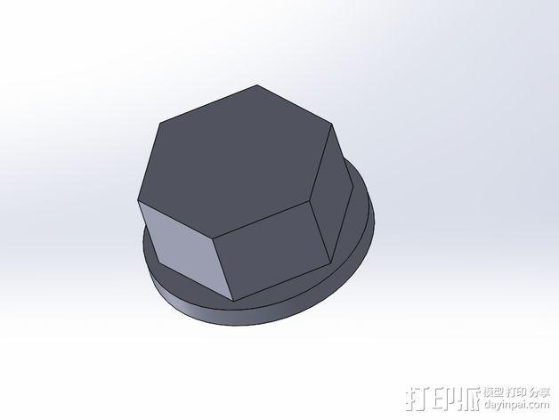 GoPro Hero3/Hero3+ 相机外壳 3D模型  图5