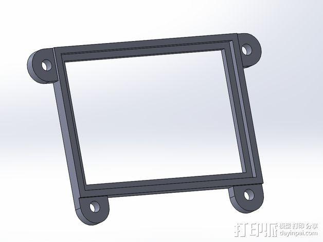 GoPro Hero3/Hero3+ 相机外壳 3D模型  图9