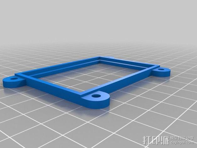 GoPro Hero3/Hero3+ 相机外壳 3D模型  图10