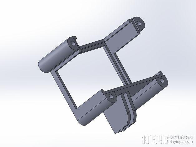 GoPro Hero3/Hero3+ 相机外壳 3D模型  图11