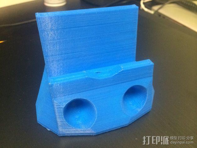 iPhone 5s手机扩音器 3D模型  图5