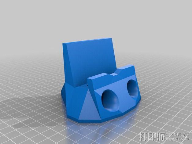 iPhone 5s手机扩音器 3D模型  图2