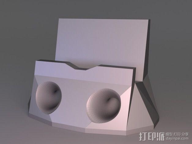 iPhone 5s手机扩音器 3D模型  图1
