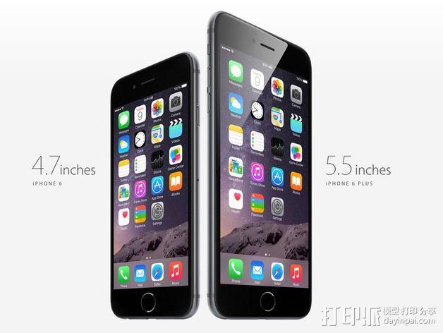 iPhone 6手机 3D模型  图1