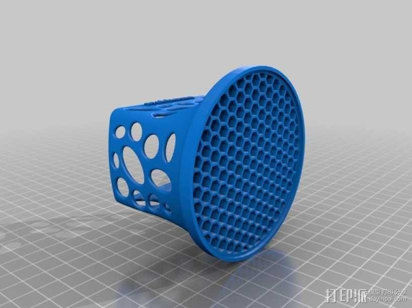 投影机防尘罩 保护罩 3D模型  图1