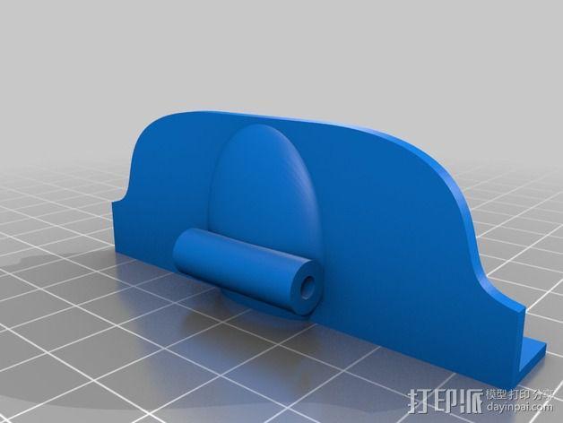 Galaxy note2 三星手机车载手机架 3D模型  图7