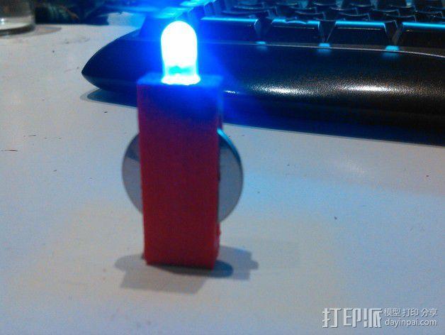 LED灯 3D模型  图4