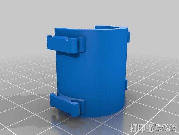 Sennheiser 麦克风固定夹  3D模型  图2