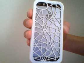 定制化iPhone5/5S手机壳 3D模型