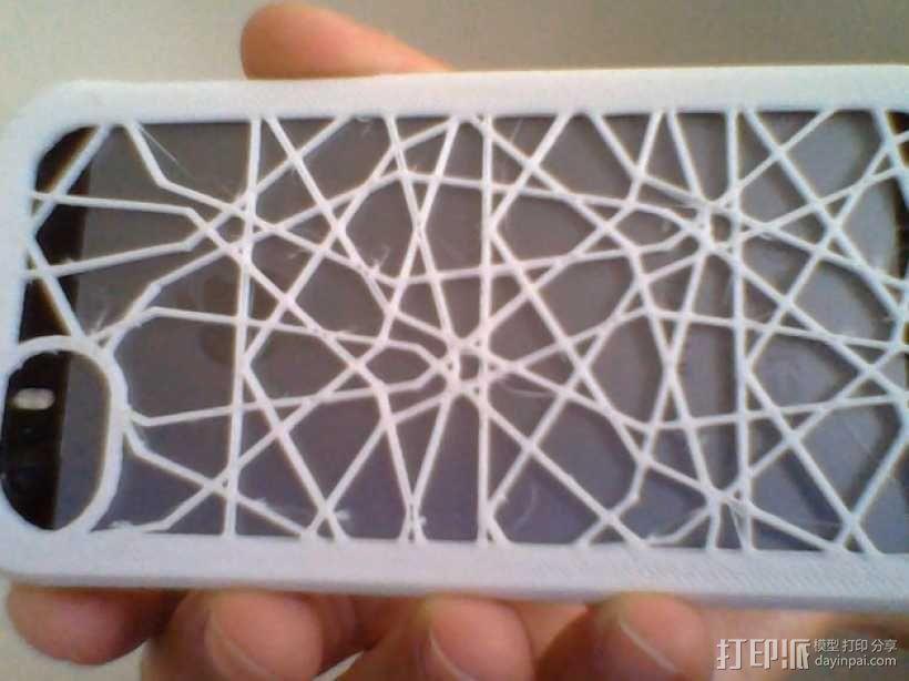 定制化iPhone5/5S手机壳 3D模型  图4