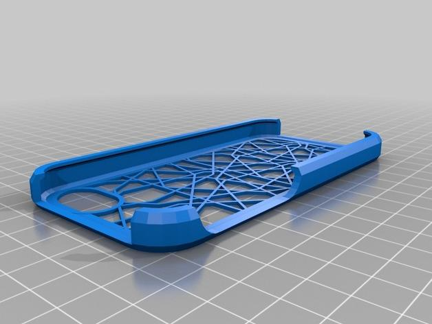 定制化iPhone5/5S手机壳 3D模型  图2