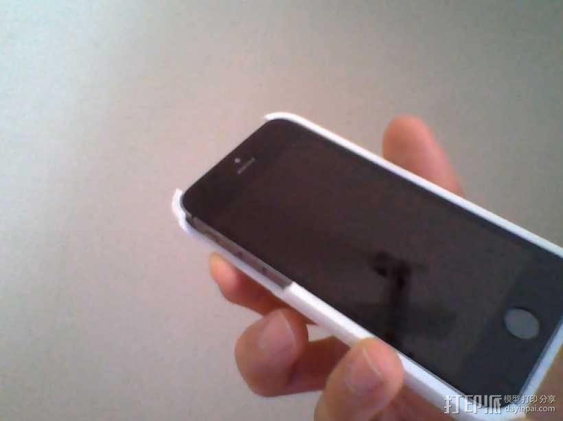 定制化iPhone5/5S手机壳 3D模型  图5