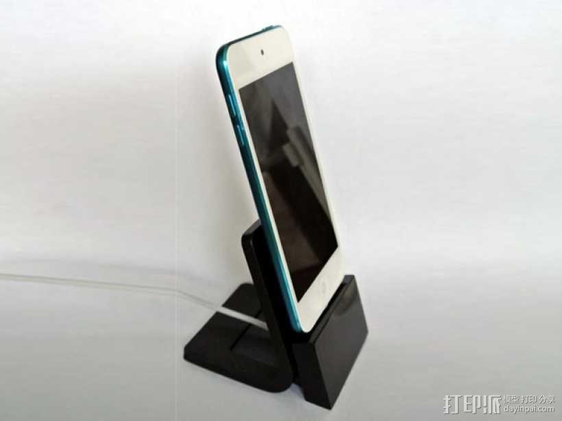 iPhone手机座 充电座 3D模型  图3
