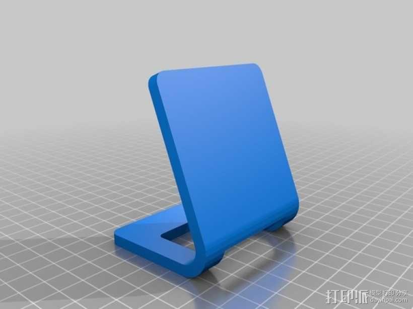 iPhone手机座 充电座 3D模型  图5