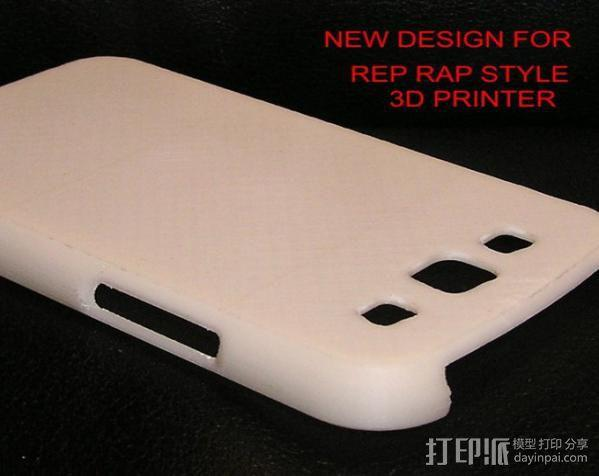 Galaxy S3 三星手机外壳 3D模型  图1