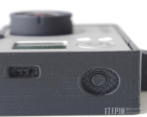 GoPro Hero3 相机支架保护外壳 3D模型  图7