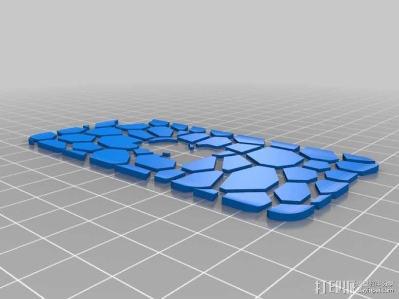 iPod 4 Touch保护壳 3D模型  图6
