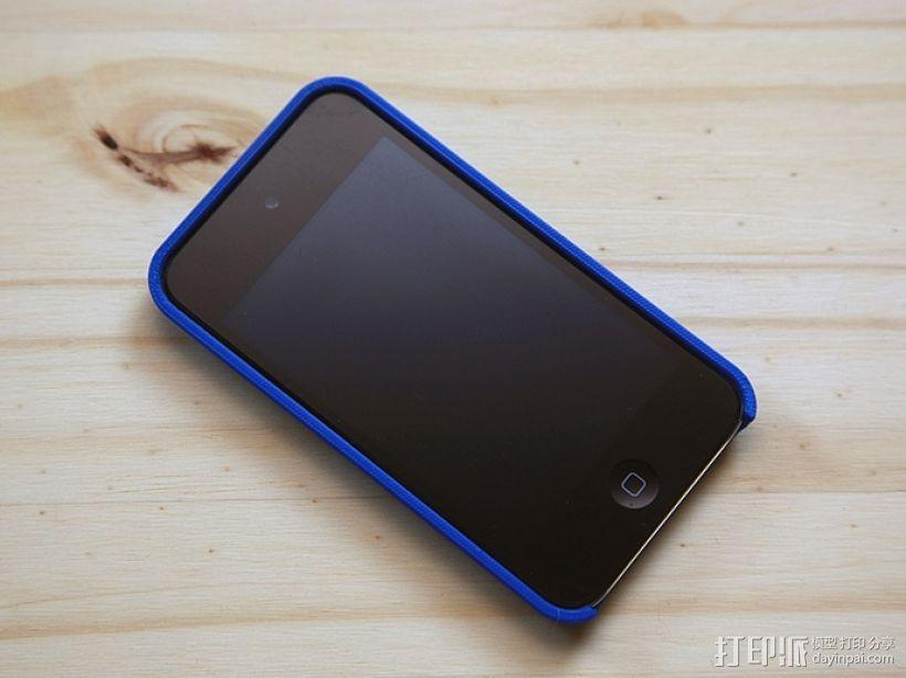 iPod 4 Touch保护壳 3D模型  图4