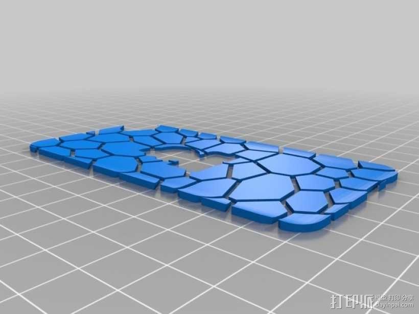 iPod 4 Touch保护壳 3D模型  图11