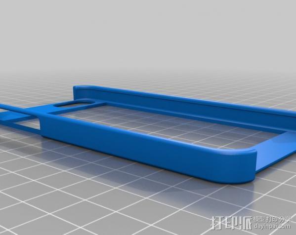iPhone 5 手机保护框 边框保护壳 3D模型  图3