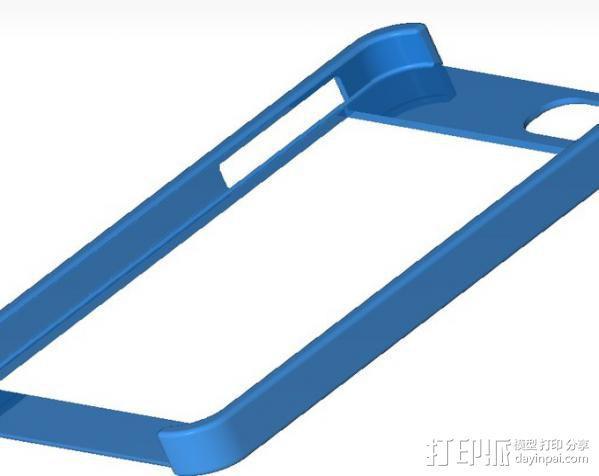 iPhone 5 手机保护框 边框保护壳 3D模型  图2