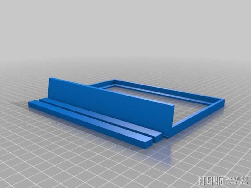相框 3D模型  图1