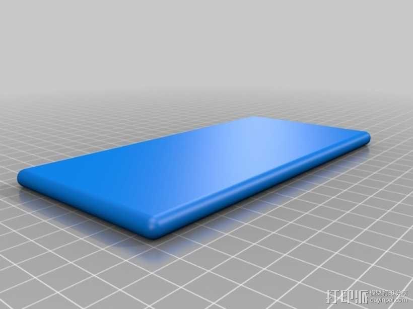 iPhone 6 手机模型 3D模型  图2
