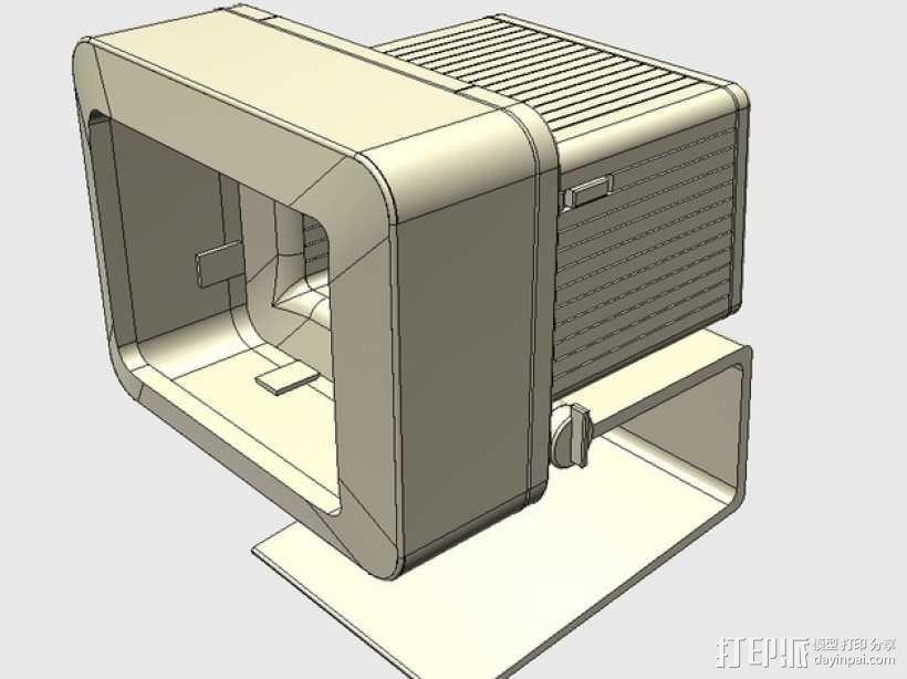 苹果电脑模型 3D模型  图1