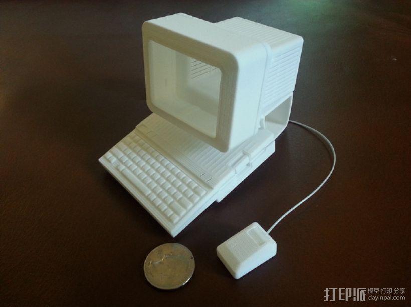 苹果电脑模型 3D模型  图3