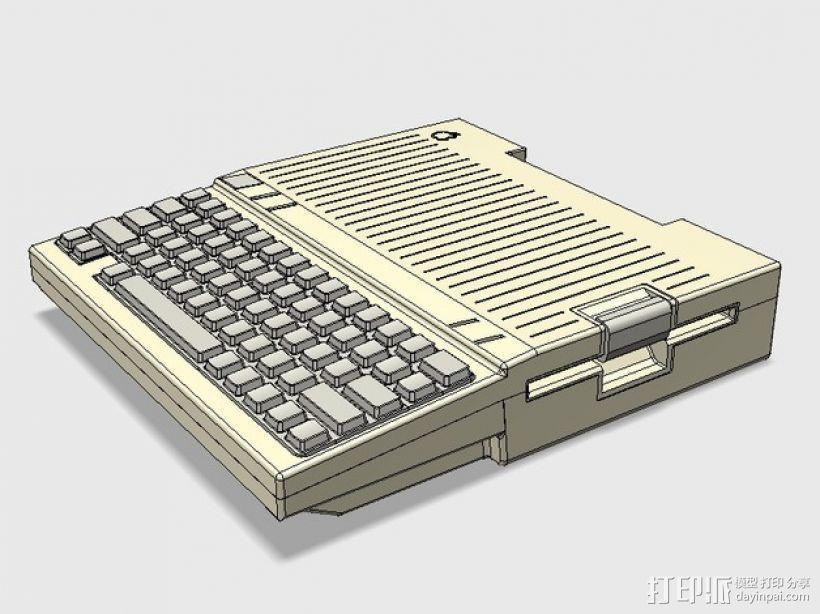 Apple IIc苹果可携式电脑 3D模型  图1