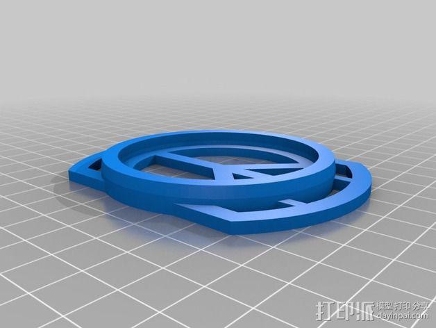 镜头盖盒子 3D模型  图2