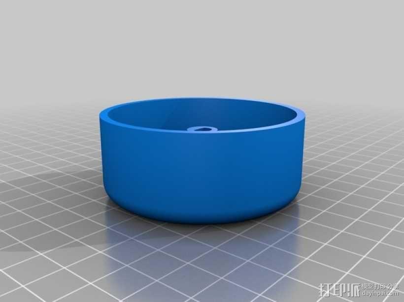 超大型电脑音量控制按钮 3D模型  图3