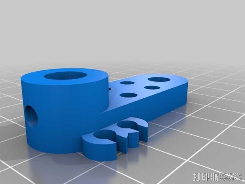 Oculus Rift DK2 相机支撑架 3D模型  图2