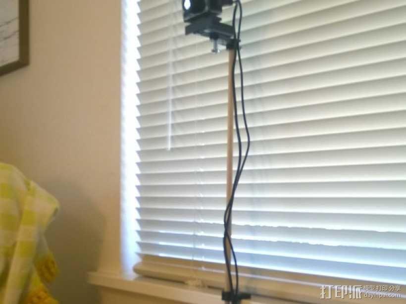 Oculus Rift DK2 相机支撑架 3D模型  图6