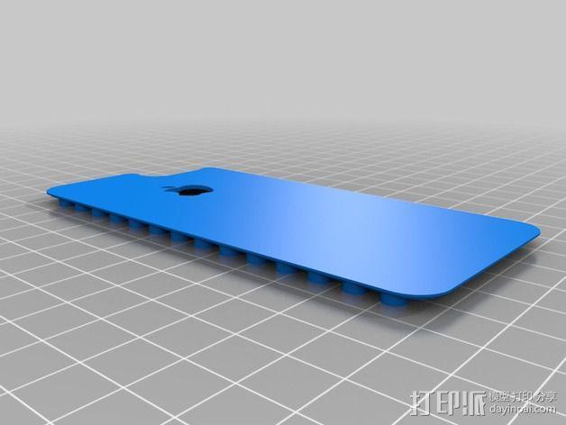 乐高iPhone5手机外壳 3D模型  图4