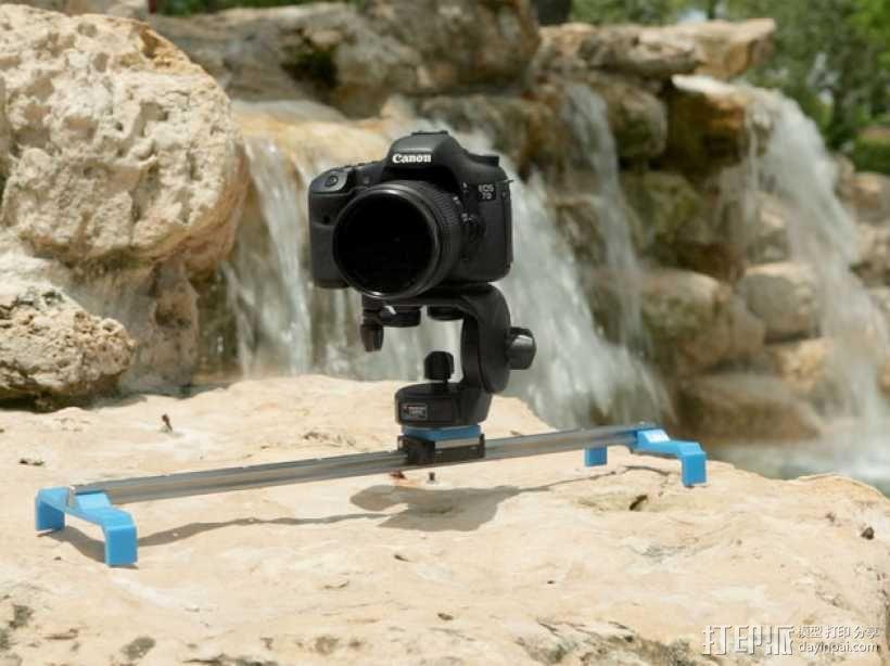 相机滑杆 3D模型  图1