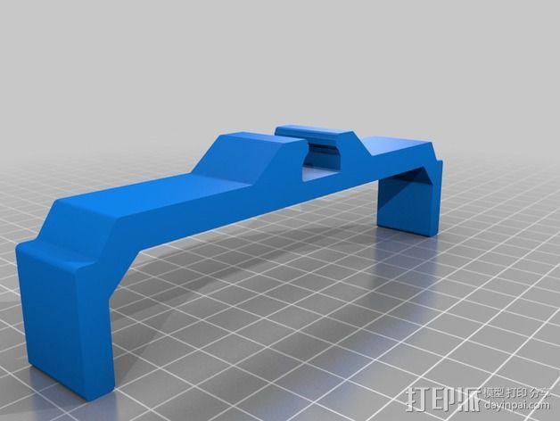 相机滑杆 3D模型  图2