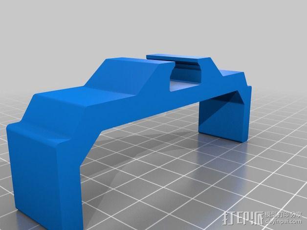 相机滑杆 3D模型  图3